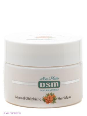 Маска для волос, 250 мл Mon Platin DSM. Цвет: белый