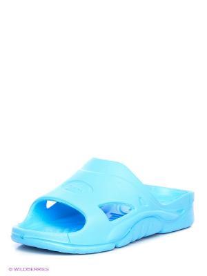 Шлепанцы Дюна. Цвет: голубой