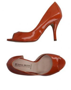 Туфли ELIANA BUCCI. Цвет: оранжевый