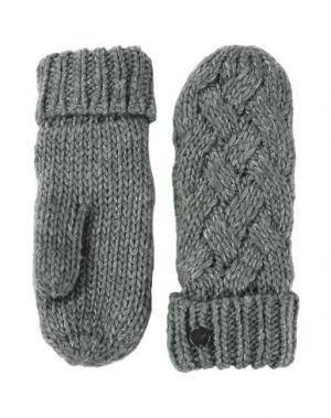 Перчатки ROXY. Цвет: серый