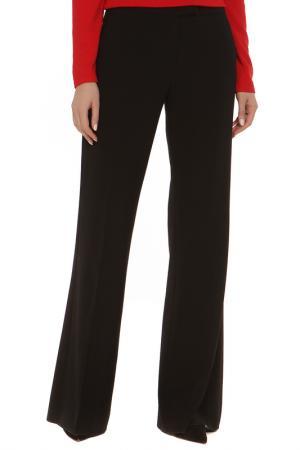 Расклешенные брюки с карманами GF FERRE. Цвет: черный
