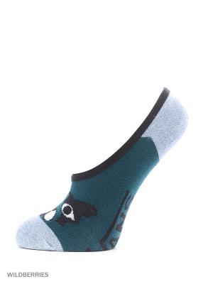Носки VANS. Цвет: зеленый