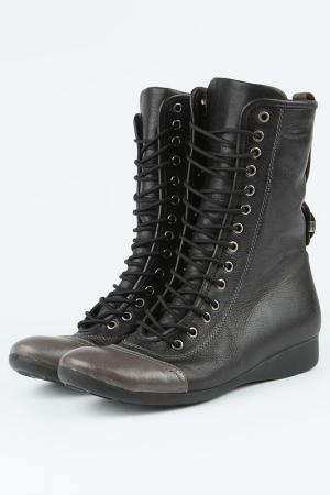 Зимние ботинки Sattini. Цвет: бежевый