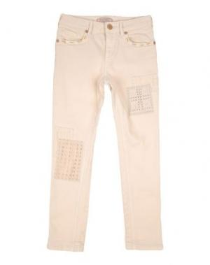 Джинсовые брюки SCOTCH R'BELLE. Цвет: слоновая кость