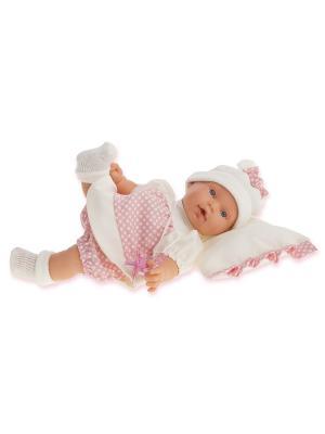 Кукла Ланита, плачущая, 27 см. Antonio Juan. Цвет: розовый, молочный
