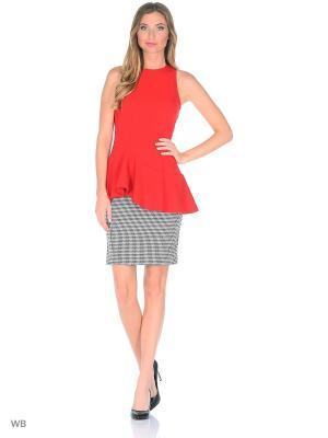 Блузка Культ платья BRACEGIRDLE. Цвет: красный