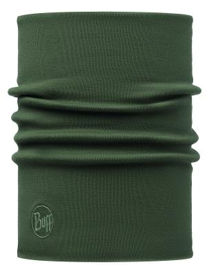 Бандана HEAVYWEIGHT MERINO WOOL NECKWARMER SOLID FOREST NIGHT Buff. Цвет: хаки