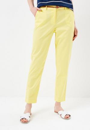 Брюки Baon. Цвет: желтый