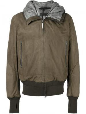 Куртка с капюшоном Isaac Sellam Experience. Цвет: телесный