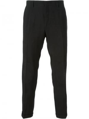 Укороченные брюки Christopher Kane. Цвет: чёрный