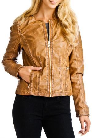 Куртка Point Zero. Цвет: коричневый