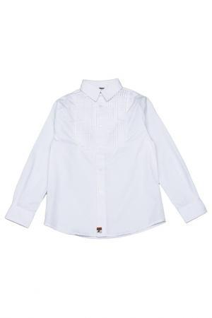 Рубашка La Miniatura. Цвет: белый
