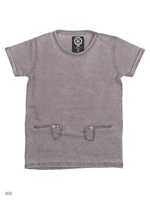 Рубашка HopenLife. Цвет: коричневый