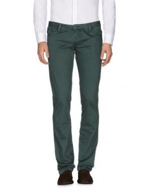 Повседневные брюки HARRY & SONS. Цвет: изумрудно-зеленый