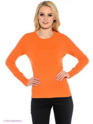 Джемпер Oodji. Цвет: оранжевый