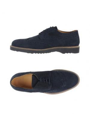 Обувь на шнурках BARBATI. Цвет: темно-синий