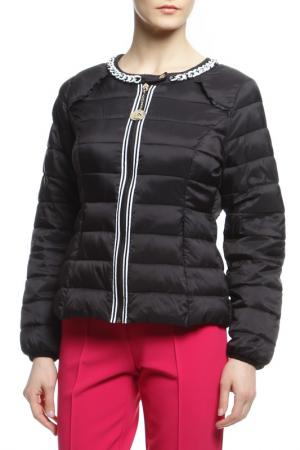 Куртка Maria Grazia Severi. Цвет: черный