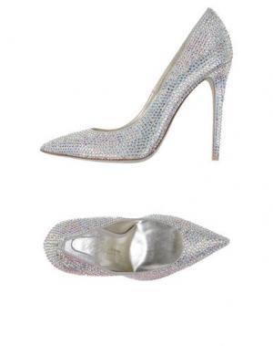 Туфли ENIO SILLA for LE. Цвет: серебристый
