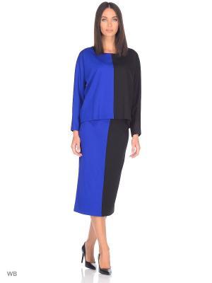 Джемпер Isabel de Pedro. Цвет: черный, синий