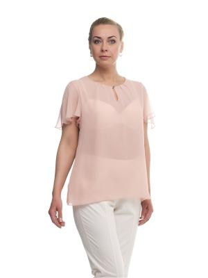 Блуза OLSI. Цвет: розовый