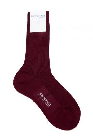 Кашемировые носки с шелком 142865 Bresciani. Цвет: красный