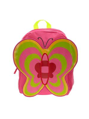 Рюкзак 3D Bags. Цвет: фуксия