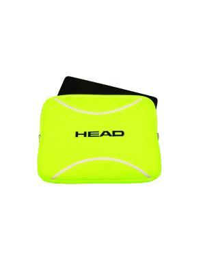 Чехол для ноутбука Tennis Ball Laptop Case HEAD. Цвет: желтый