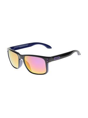 Солнцезащитные очки Gusachi. Цвет: синий, черный, розовый, сиреневый