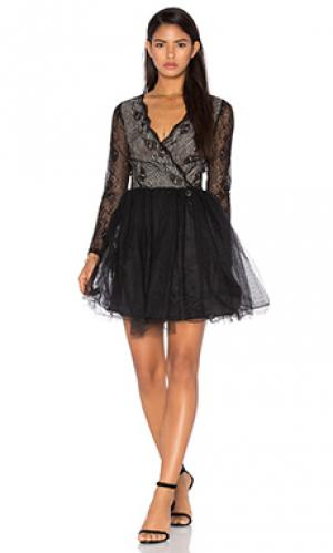 Мини платье parisian Bronx and Banco. Цвет: черный