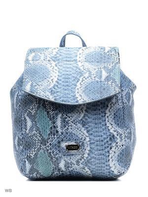 Рюкзак Vitacci. Цвет: голубой