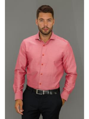 Рубашка John Jeniford. Цвет: розовый