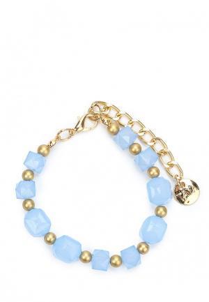 Браслет Taya. Цвет: голубой