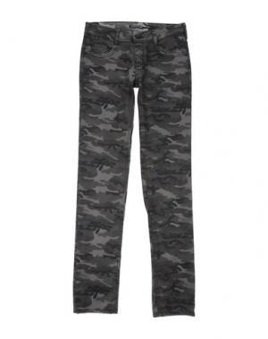 Повседневные брюки CIMARRON. Цвет: свинцово-серый