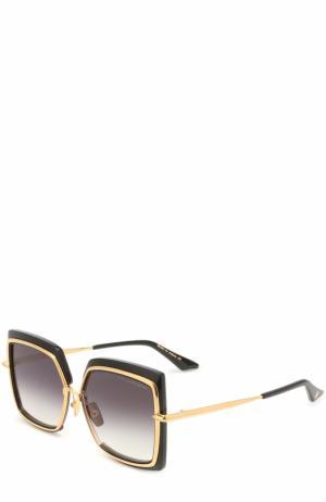 Солнцезащитные очки Dita. Цвет: черный