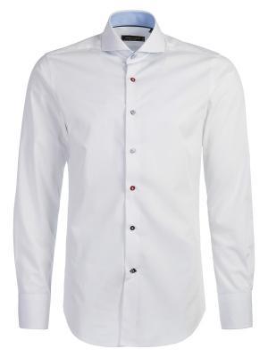 Рубашка Angelo Bonetti. Цвет: белый