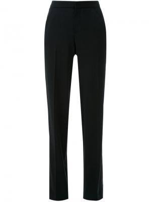 Строгие широкие брюки Scanlan Theodore. Цвет: чёрный