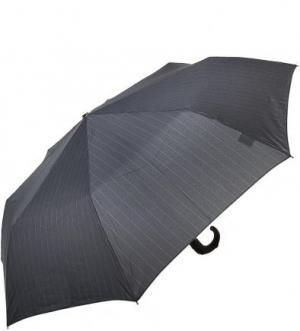 Серый складной зонт Doppler. Цвет: серый