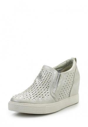 Ботильоны Sweet Shoes. Цвет: серебряный
