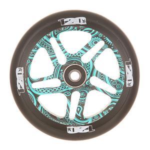 Колесо для самоката  Otr Wheel 120mm Warrick Blunt. Цвет: черный,голубой