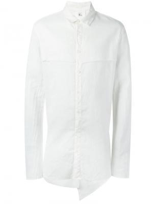 Многослойная рубашка Lost & Found Rooms. Цвет: белый