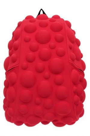 Рюкзак Bubble Full MadPax. Цвет: красный, неон