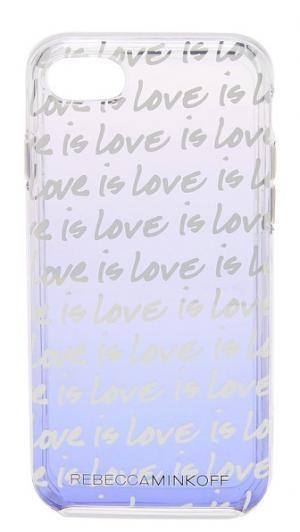 Чехол Love is для iPhone 7 Rebecca Minkoff