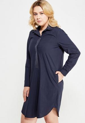 Платье Violeta by Mango. Цвет: синий