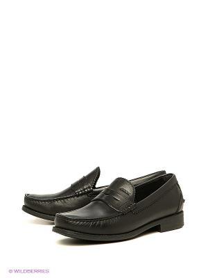 Туфли GEOX. Цвет: черный