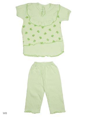Пижама Babycollection. Цвет: салатовый