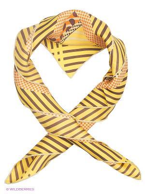 Платок Moltini. Цвет: желтый