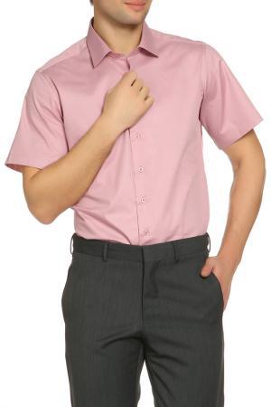 Рубашка Karflorens. Цвет: каштановый