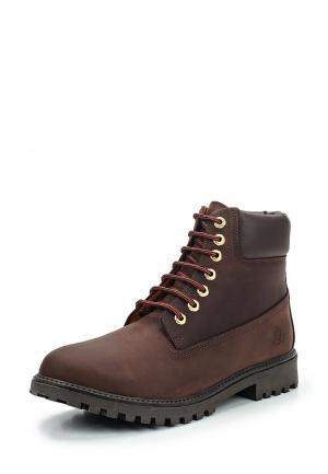 Ботинки LumberJack. Цвет: коричневый