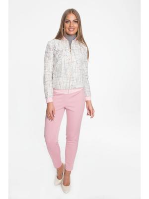 Куртка La mia perla. Цвет: молочный, золотистый, розовый