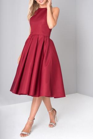 Платье CHI LONDON. Цвет: red